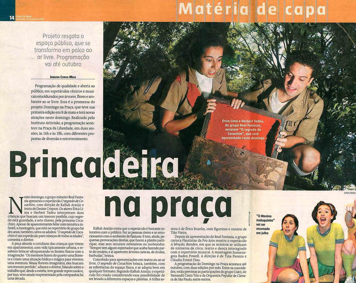 O Segredo de Cocachin - Estado de Minas